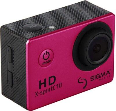 Екшн-камера Sigma mobile X-sport C10 Pink 3