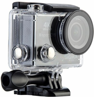 Екшн-камера Sigma mobile X-sport C19 Black 5