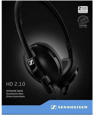 Наушники Sennheiser HD 2.10 Black 5