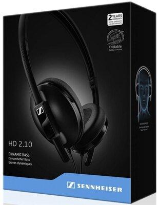 Наушники Sennheiser HD 2.10 Black 6