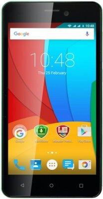 Смартфон Prestigio MultiPhone 3508 Wize P3 Dual Green 1