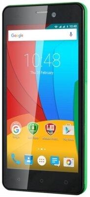 Смартфон Prestigio MultiPhone 3508 Wize P3 Dual Green 3
