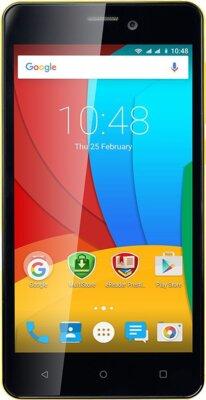 Смартфон Prestigio MultiPhone 3508 Wize P3 Dual Yellow 1