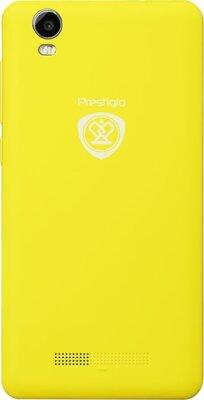 Смартфон Prestigio MultiPhone 3508 Wize P3 Dual Yellow 2