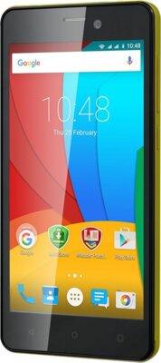 Смартфон Prestigio MultiPhone 3508 Wize P3 Dual Yellow 3