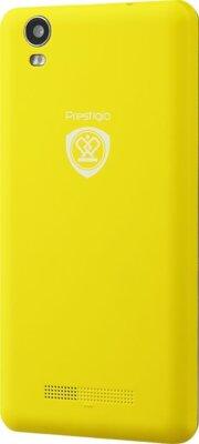 Смартфон Prestigio MultiPhone 3508 Wize P3 Dual Yellow 4