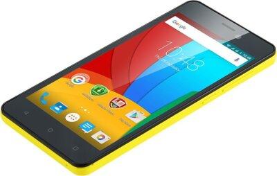 Смартфон Prestigio MultiPhone 3508 Wize P3 Dual Yellow 5