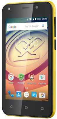 Смартфон Prestigio MultiPhone 3403 Wize L3 Dual Yellow 3