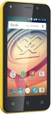 Смартфон Prestigio MultiPhone 3403 Wize L3 Dual Yellow 5