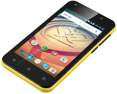 Смартфон Prestigio MultiPhone 3403 Wize L3 Dual Yellow 6