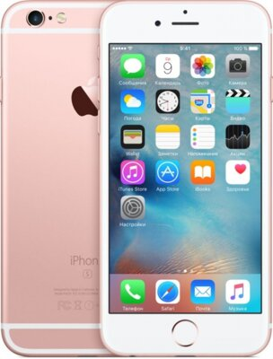 Смартфон Apple iPhone 6s Rose Gold 1