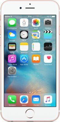 Смартфон Apple iPhone 6s Rose Gold 2