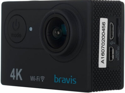Екшн-камера Bravis A1 Black 4