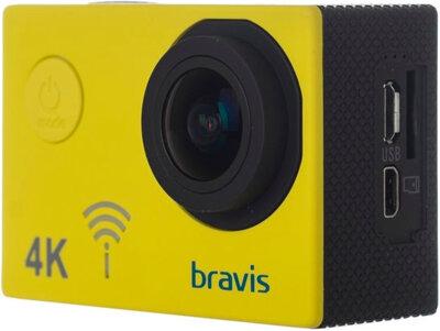 Экшн-камера Bravis A3 Yellow 4