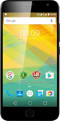 Смартфон Prestigio MultiPhone 7501 Grace R7 Duo Black 1