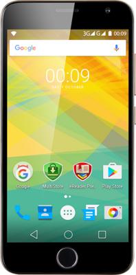 Смартфон Prestigio MultiPhone 7501 Grace R7 Duo Gold 1