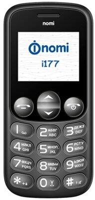 Мобільний телефон Nomi i177 Black 1