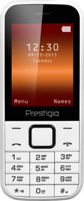 Мобильный телефон Prestigio 1240 Wize С1 Dual Sim White 1