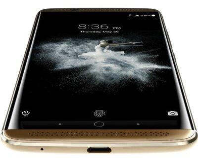 Смартфон ZTE Axon 7 64GB Gold 8