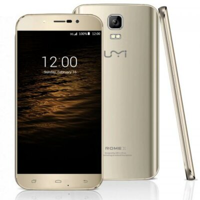 Смартфон UMI Rome X Gold 3