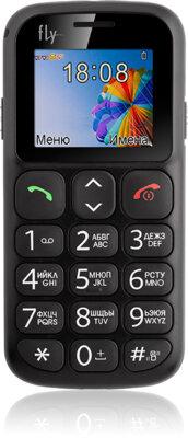 Мобильный телефон Fly Ezzy 7 Black 1