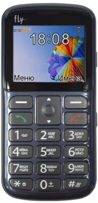 Мобільний телефон Fly Ezzy 8 Grey 1
