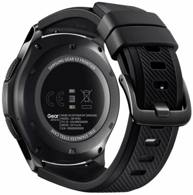 Смарт-часы Samsung Gear S3 Frontier SM-R760 Dark Grey 5
