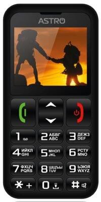 Мобильный телефон Astro A179 Black 1