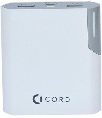 Мобільна батарея Cord Standart Y10400 White/Grey 1