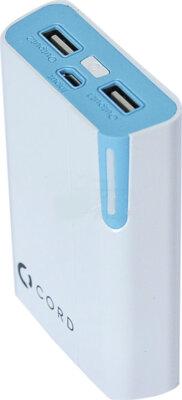 Мобильная батарея Cord Standart Y8400 White/Blue 2