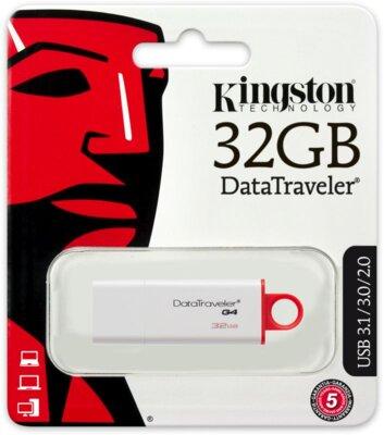 USB flash накопитель Kingston DataTraveler G4 32GB 6