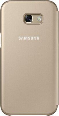 Чехол Samsung Neon Flip Cover EF-FA520PFEGRU Gold для Galaxy A5 (2017) 2