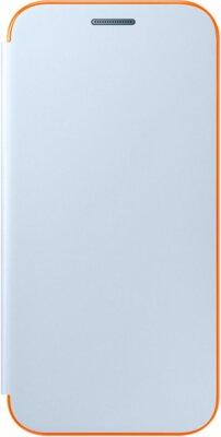 Чехол Samsung Neon Flip Cover EF-FA320PLEGRU Blue для Galaxy A3 (2017) 1