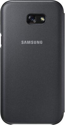 Чохол Samsung Neon Flip Cover EF-FA720PBEGRU Black для Galaxy A7 (2017) 2
