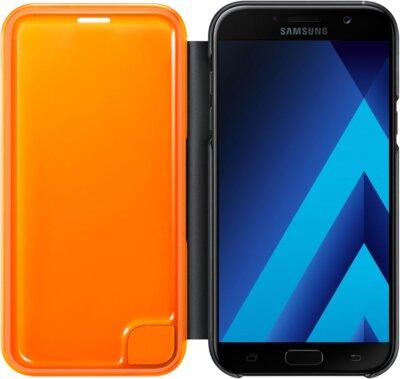 Чохол Samsung Neon Flip Cover EF-FA720PBEGRU Black для Galaxy A7 (2017) 3
