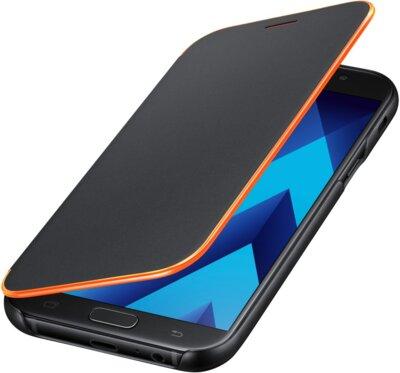 Чохол Samsung Neon Flip Cover EF-FA720PBEGRU Black для Galaxy A7 (2017) 4