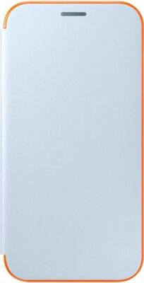 Чехол Samsung Neon Flip Cover EF-FA720PLEGRU Blue для Galaxy A7 (2017) 1