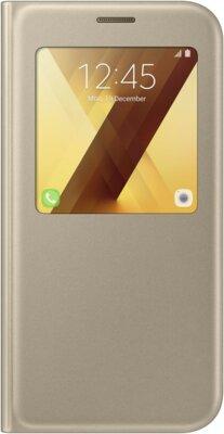 Чохол Samsung S View Standing Cover EF-CA720PFEGRU Gold для Galaxy A7 (2017) 1
