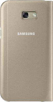 Чохол Samsung S View Standing Cover EF-CA720PFEGRU Gold для Galaxy A7 (2017) 2