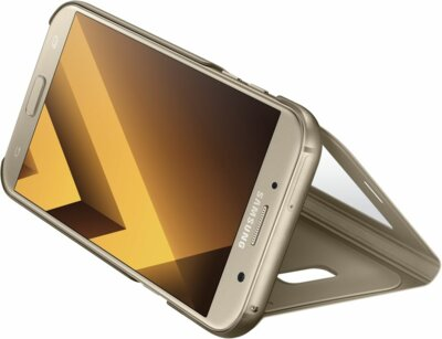 Чохол Samsung S View Standing Cover EF-CA720PFEGRU Gold для Galaxy A7 (2017) 5