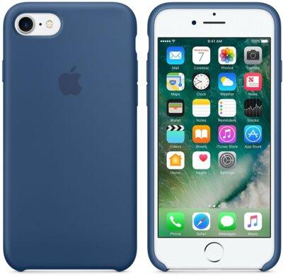 Чохол Apple Silicone Case MMWW2ZM/A Ocean Blue для iPhone 7 4