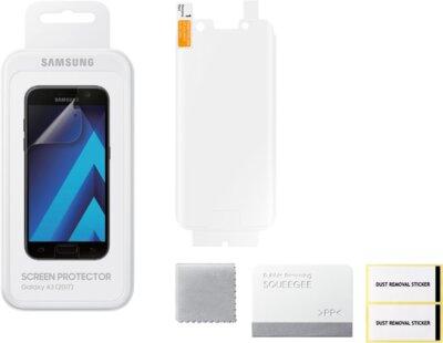 Защитная пленка Samsung ET-FA320CTEGRU для Galaxy A3 (2017) 3