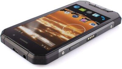 Смартфон Sigma X-treme PQ27 Black + Зарядний кредл-колонка 6
