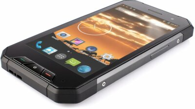 Смартфон Sigma X-treme PQ27 Black + Зарядний кредл-колонка 7