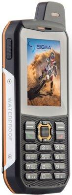 Мобильный телефон Sigma X-treme 3GSM Black-Orange 2