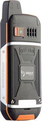 Мобильный телефон Sigma X-treme 3GSM Black-Orange 4