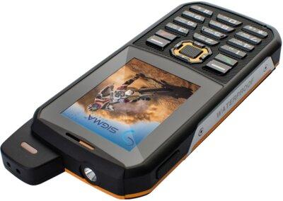 Мобильный телефон Sigma X-treme 3GSM Black-Orange 5
