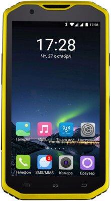 Смартфон Sigma X-treme PQ31 Yellow-Black 1