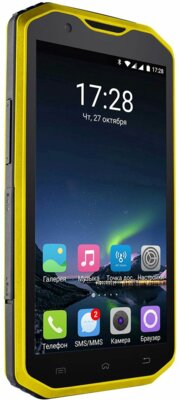 Смартфон Sigma X-treme PQ31 Yellow-Black 2