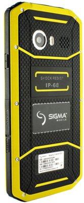 Смартфон Sigma X-treme PQ31 Yellow-Black 4